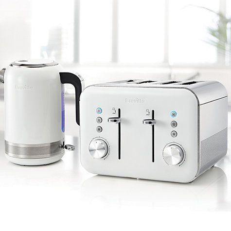 Breville VTT687 High Gloss 4-Slice Toaster, White Toasters, High - einrichtungsideen f amp uuml r wohnzimmer