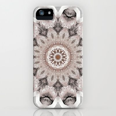 Mandala Shabby iPhone & iPod Case by Christine baessler - $35.00