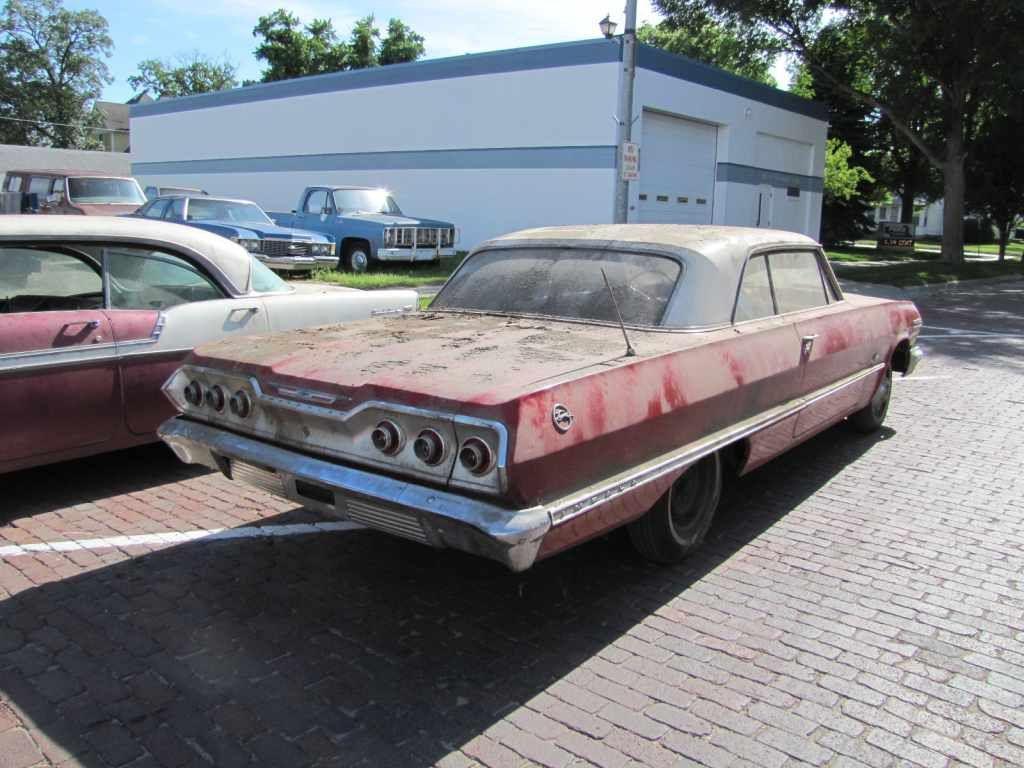 1963 Chevy Impala, 1963 Impala, Lembrecht Auction, Pierce Nebraska ...