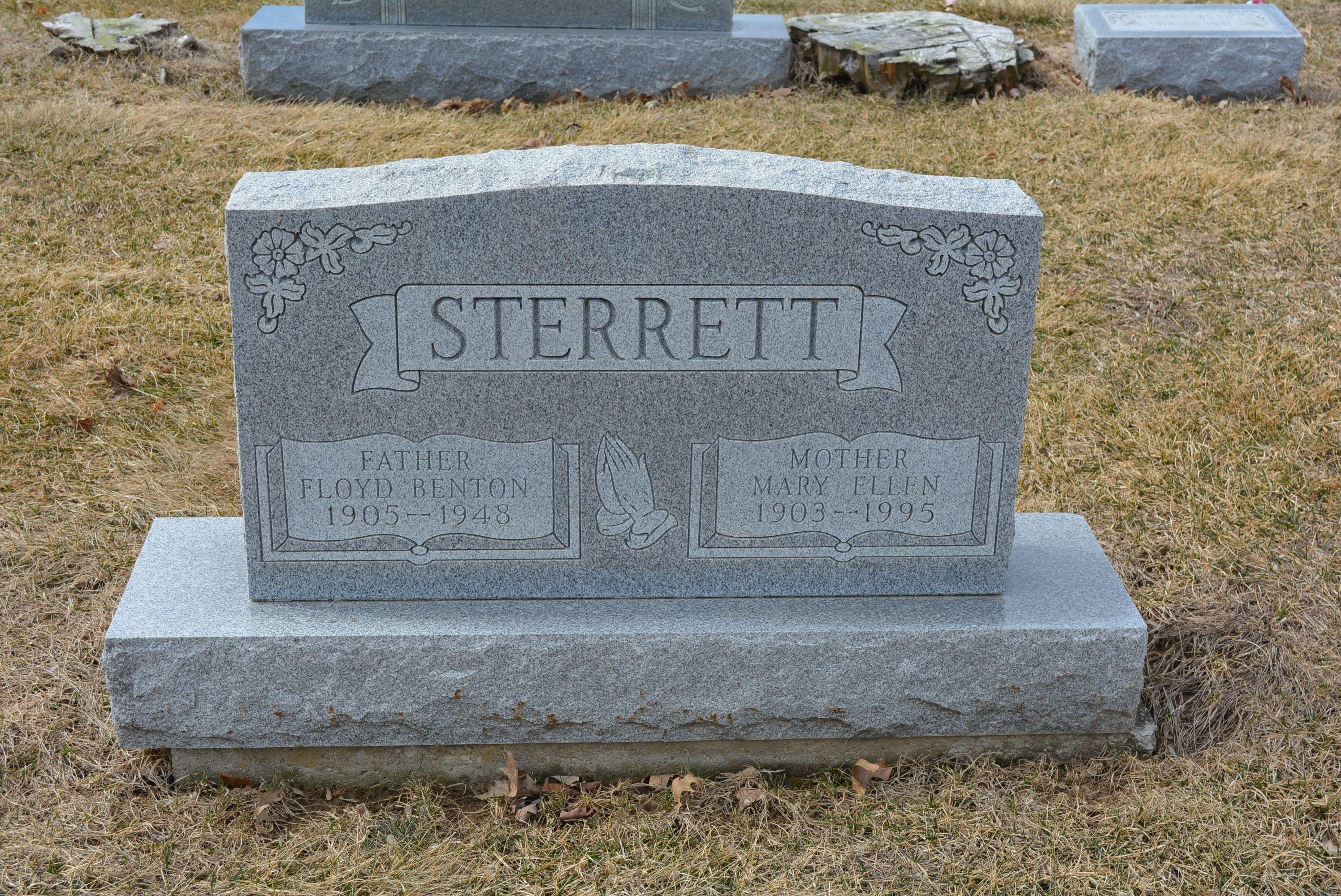 Floyd Benton Sterrett 1905 1948 Find A Grave Photos With Images Floyd Benton Gravestone