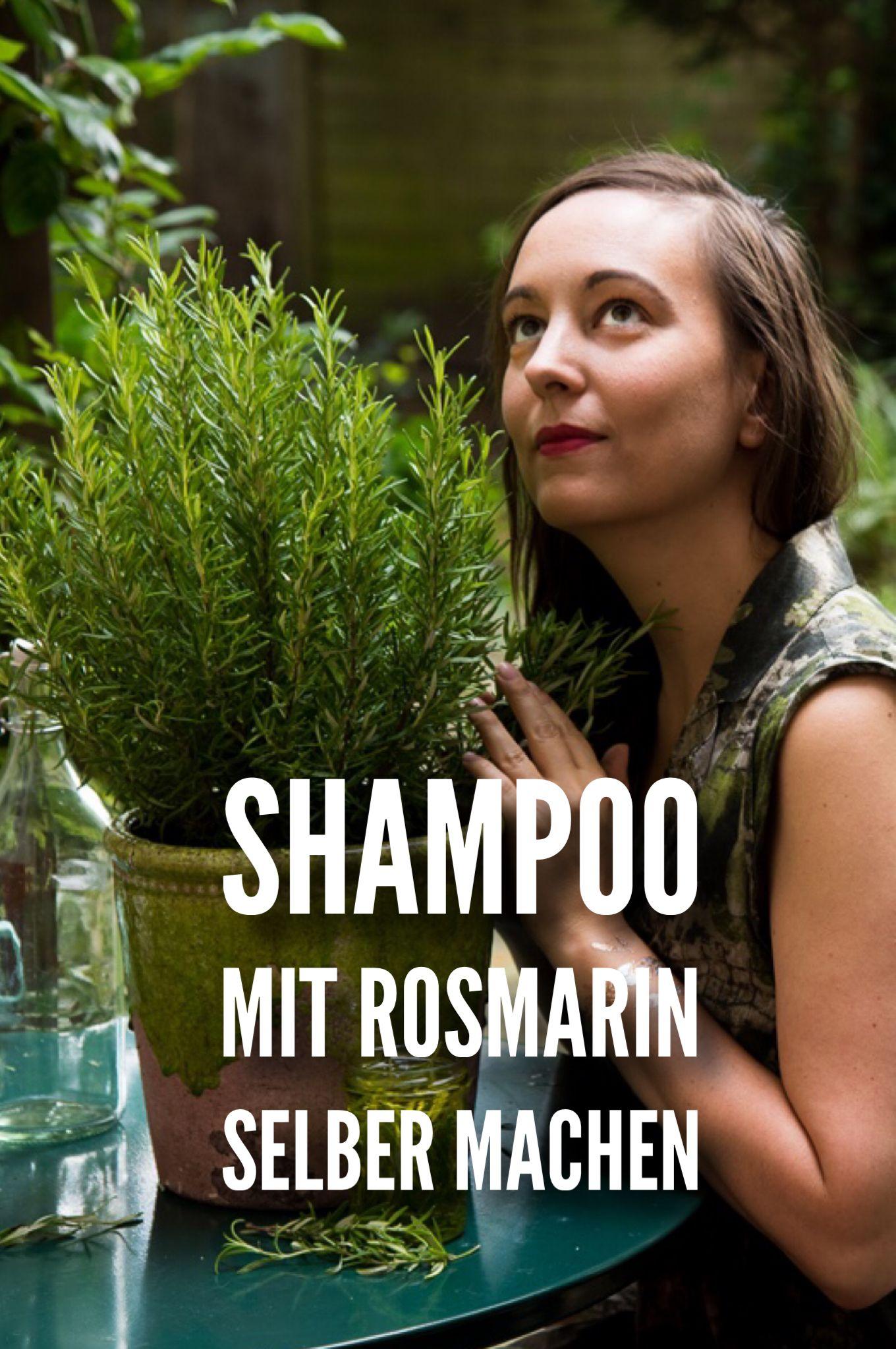 Shampoo mit Rosmarin Selbermachen
