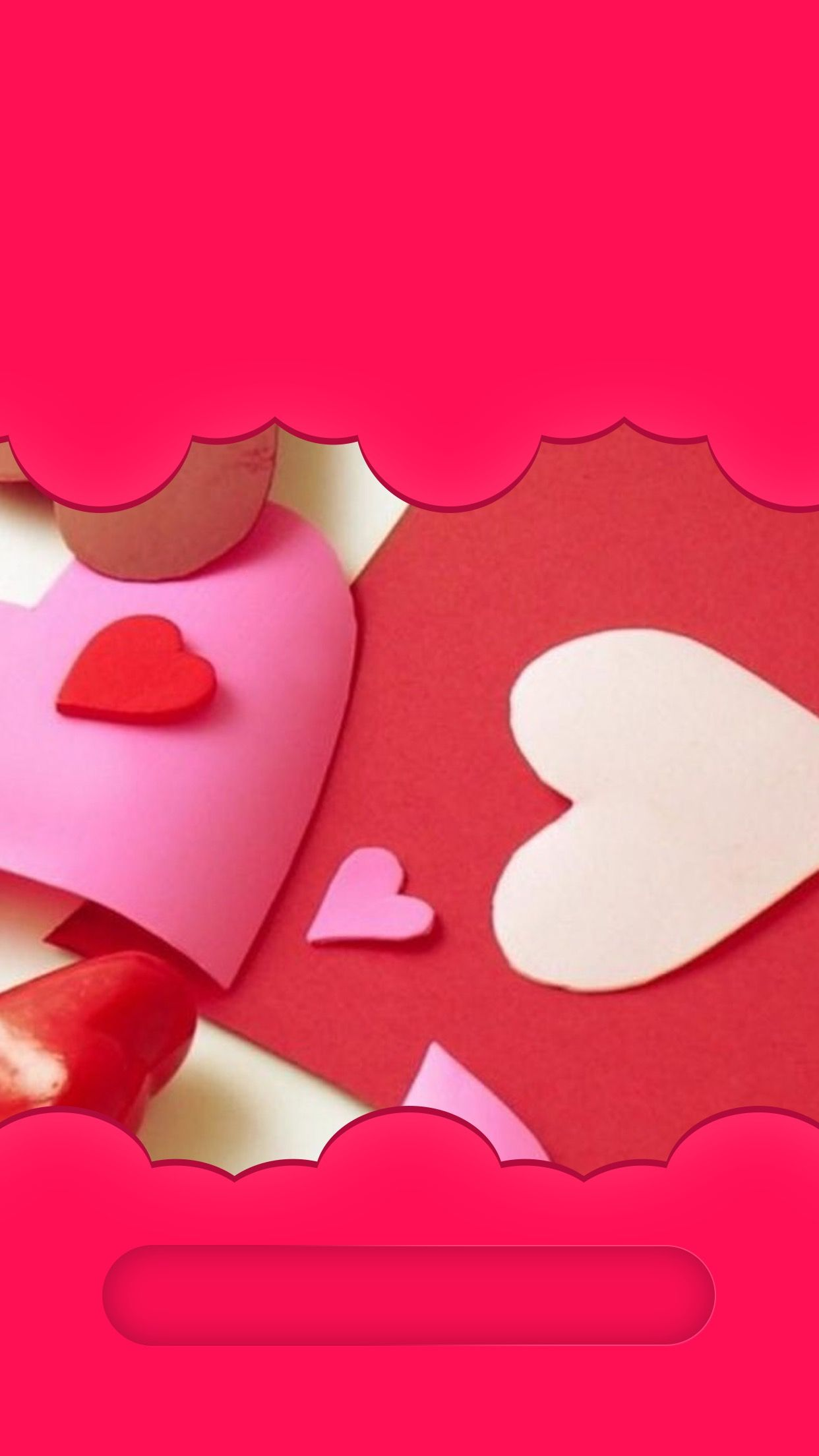 Tap And Get The Free App Lockscreens Art Creative Love Heart For Girls Pink Couple Hd Iphone 6 Iphone Wallpaper Girly Creative Art Iphone Wallpaper Vintage