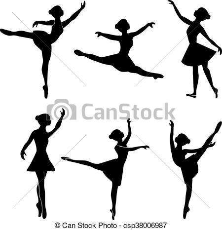 Kingaroy Silhouette Drawdy Dance School Ballet Dancer Clip Art - Standing -  Ballerina Image Transparent PNG