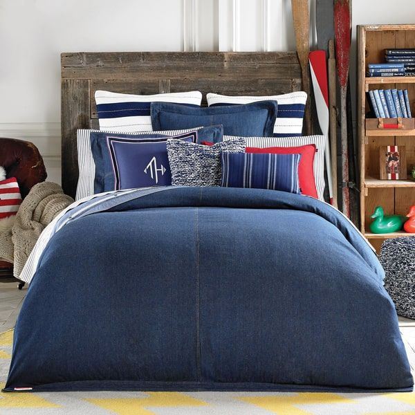 Overstock Com Online Shopping Bedding Furniture Electronics Jewelry Clothing More Denim Comforter Comforter Sets Tommy Hilfiger Bedding