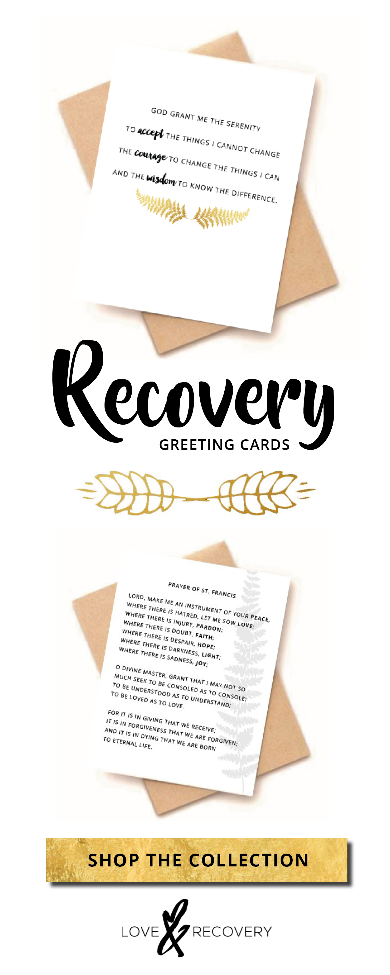 Recovery Greeting Cards Recovery Prayer Pray Cards Sober