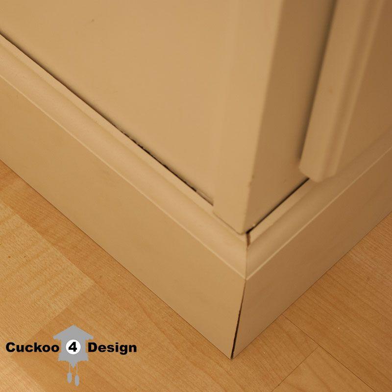 Bathroom Cabinet Kick Plate Makeover Kick Plate Kitchen Island Makeover Base Moulding