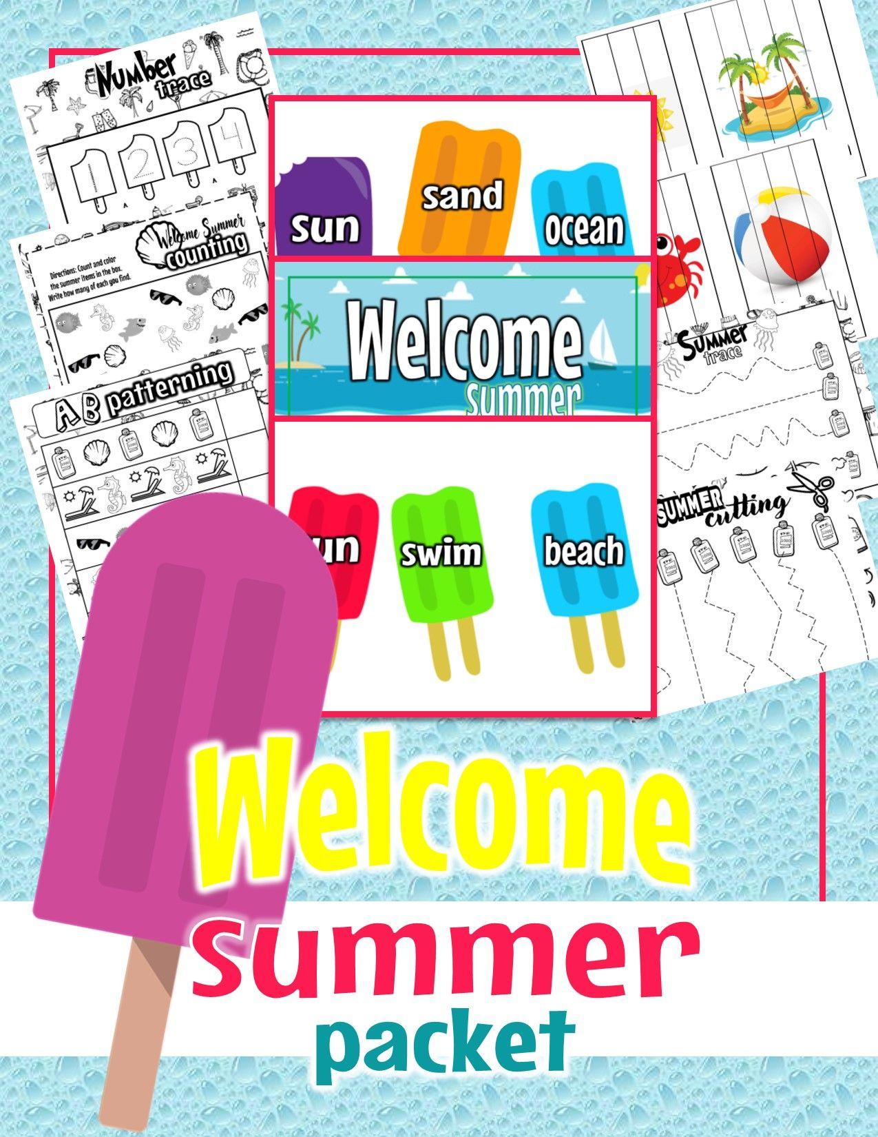 Summer Bundle Welcome Summer