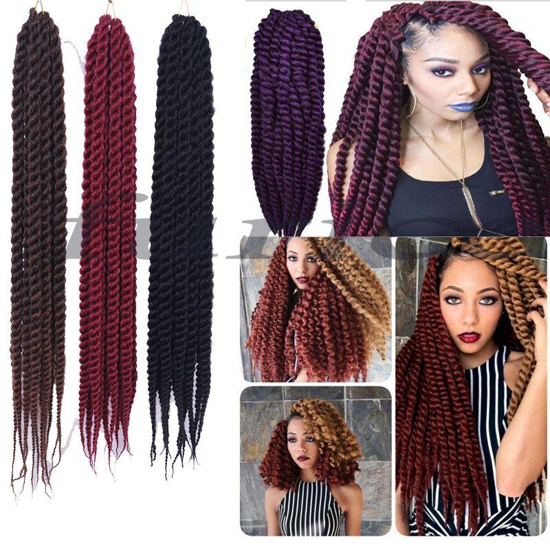 Aliexpress Com Buy Havana Mambo Twist Crochet 18inch Braid Hair 60 120g Pack 2x Synthetic Senegalese Ha Havana Mambo Twist Crochet Havana Braids Twist Braids