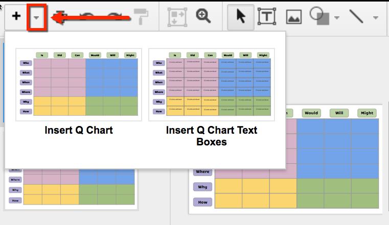 q chart template google slides technology pinterest chart