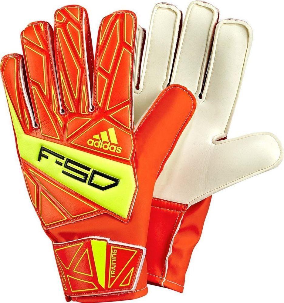 Adidas f50 training soccer goalie goalkeeper gloves portero