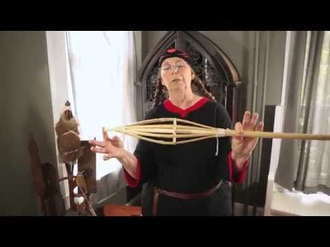 Dressing a Naked Distaff - YouTube