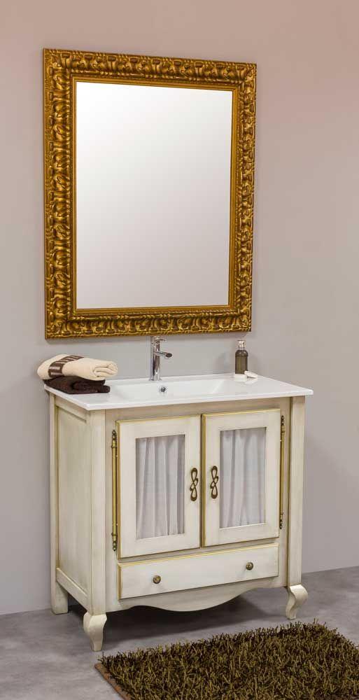 www. mueblesmodesto. es Mueble de baño isabelino 2 cajones ...