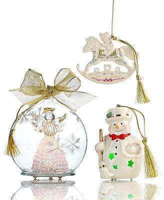 Lenox Christmas Ornament, Macy\u0027s Exclusive LENOX CHRISTMAS - christmas decorations sale