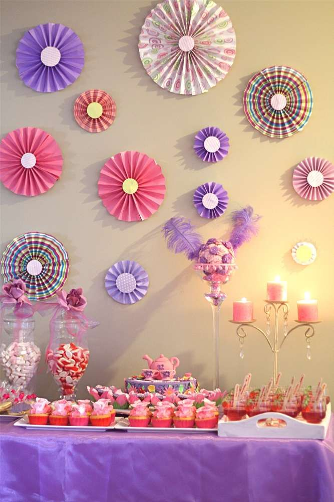 Tea Party Birthday Party Ideas Photo 1 Of 8 Catch My