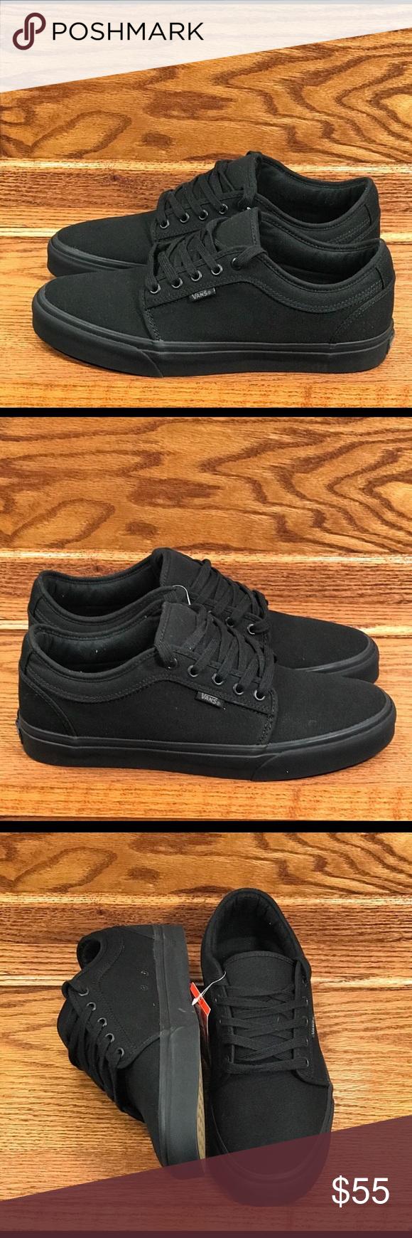Vans Chukka Low Pro Blackout Shoes