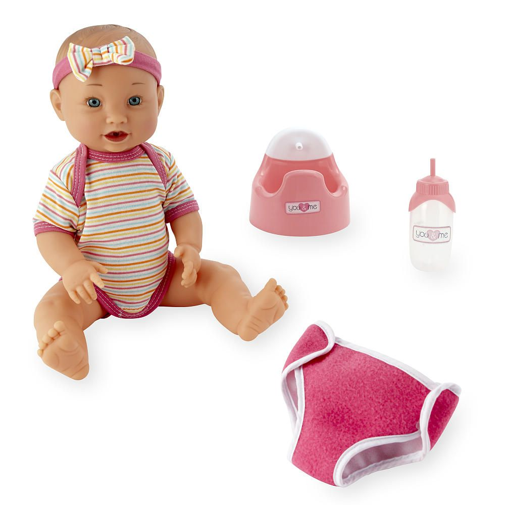 Now You Can Have Your Very Own Baby Doll The You Amp Me Drink And Wet Baby Doll Lets You Feed Your Baby W Baby Doll Clothes Baby Dolls Baby Doll