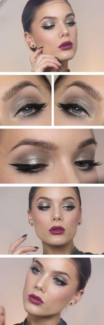 Bright Silver Look Pinterest Bright Makeup And Linda Hallberg