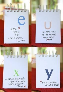 Diy A Z I Love You Diy Valentines Gifts For Him Diy Valentines