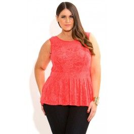 This Lace Peplum Top will leave your wardrobe in awe with its sexy design. Features include a peplum hemline, scoop neckline, a beautiful floral lace overlay and a fitted waistband draws you in at the waist to create a gorgeous hourglass figure. Team with a fitted skirt and strappy heels for your next night out.