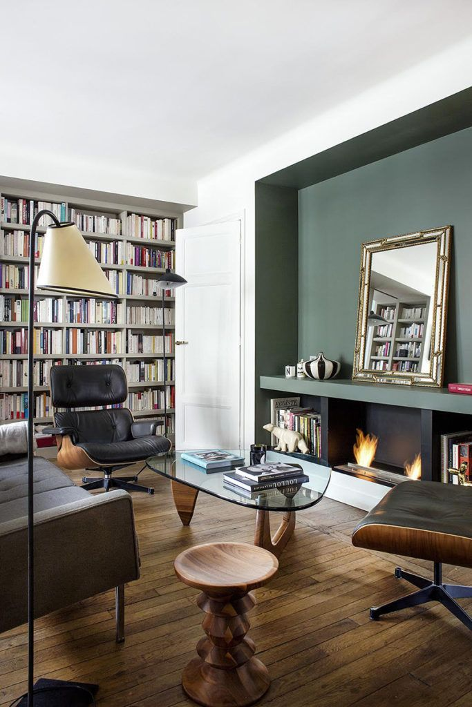 8 buenas ideas para decorar un piso pequeño que vemos en funcionamiento en este apartamento de París #deptodublin