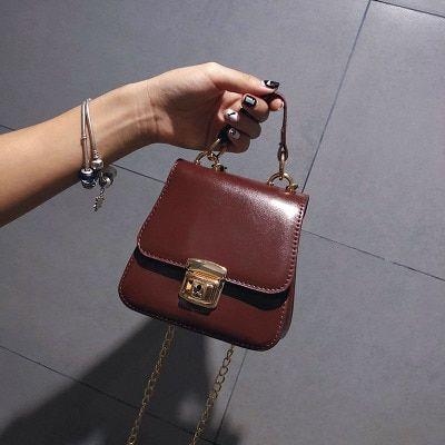 c1e37373719 NEW Small Women Bags PU leather Messenger Bag Clutch Bags Designer Mini  Shoulder Bag Women Handbag Hot Sale bolso mujer purse Review