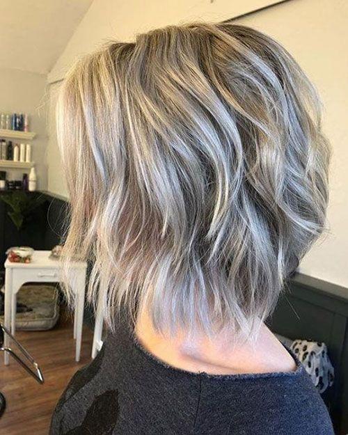 Abgehackte Bob-Frisuren für Frauen » Frisuren 2019 Neue Frisuren und Haarfarben #choppybobhaircuts