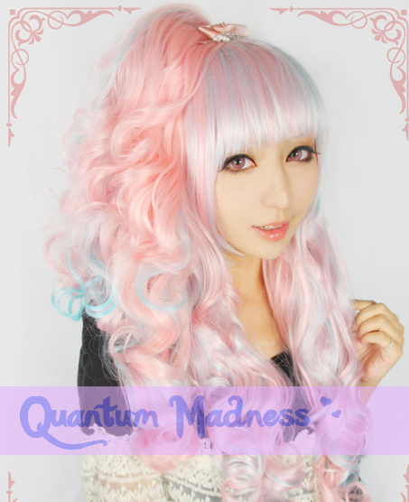 About 70cm in length   Pastel candy coloured wig.   Please note this item may not also be in stock, if this happens when you have already purchased this item then you will be notified.