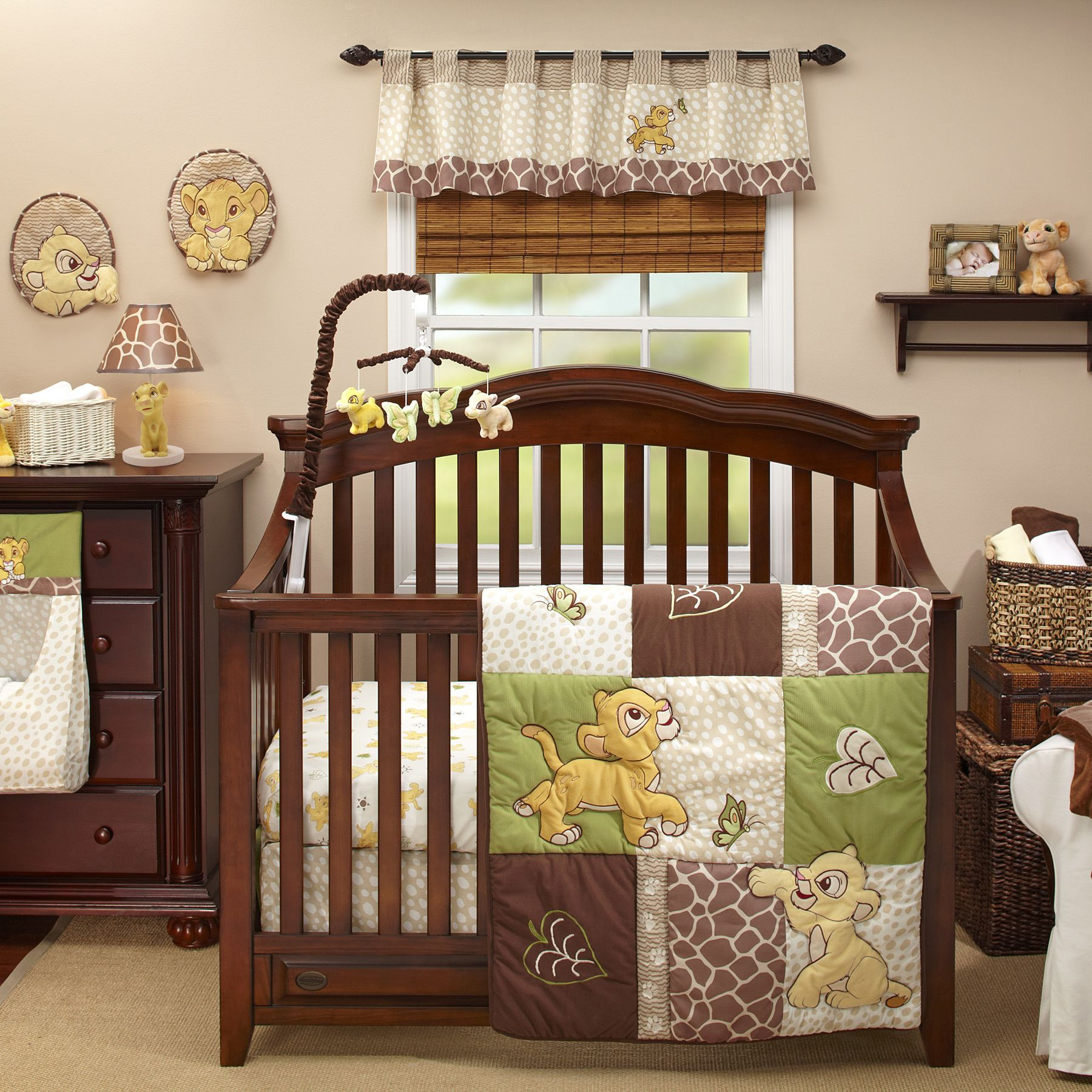 THE LION KING 4 Piece Crib Bedding Set If Its A Boy Or