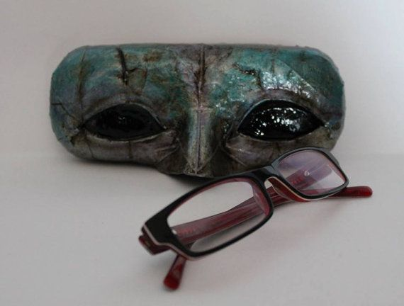 Funda para gafas Carnaval por PizpiretaBags en Etsy