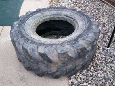How To Create The Perfect Cheap Home Gym Tractor Tire Gym And Workout