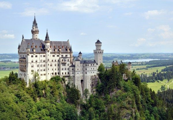 The Romantic Road Neuschwanstein Castle Germany Neuschwanstein Castle Germany Castles Castle Bavaria