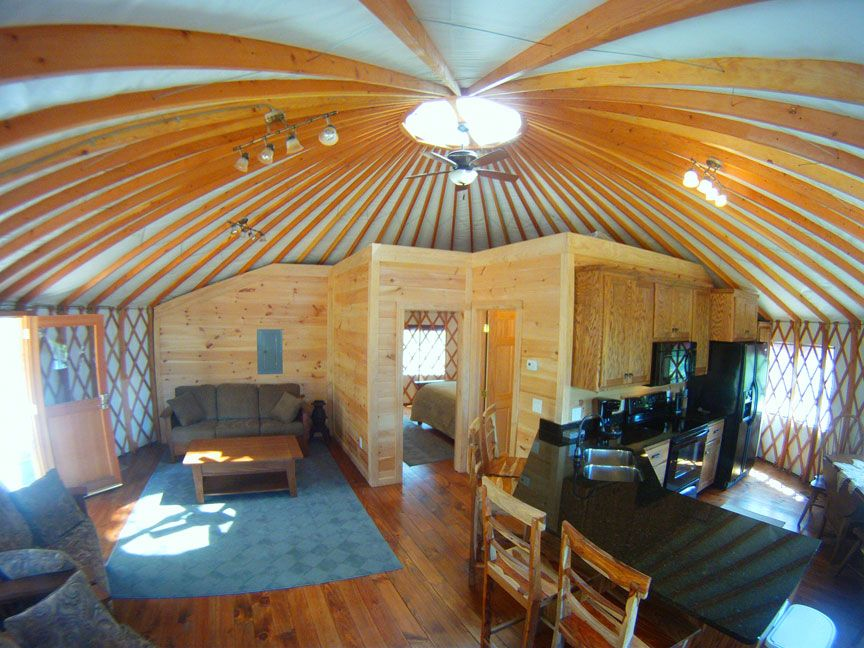 Yurt Living Photo Gallery Sky Ridge Yurts Vacation
