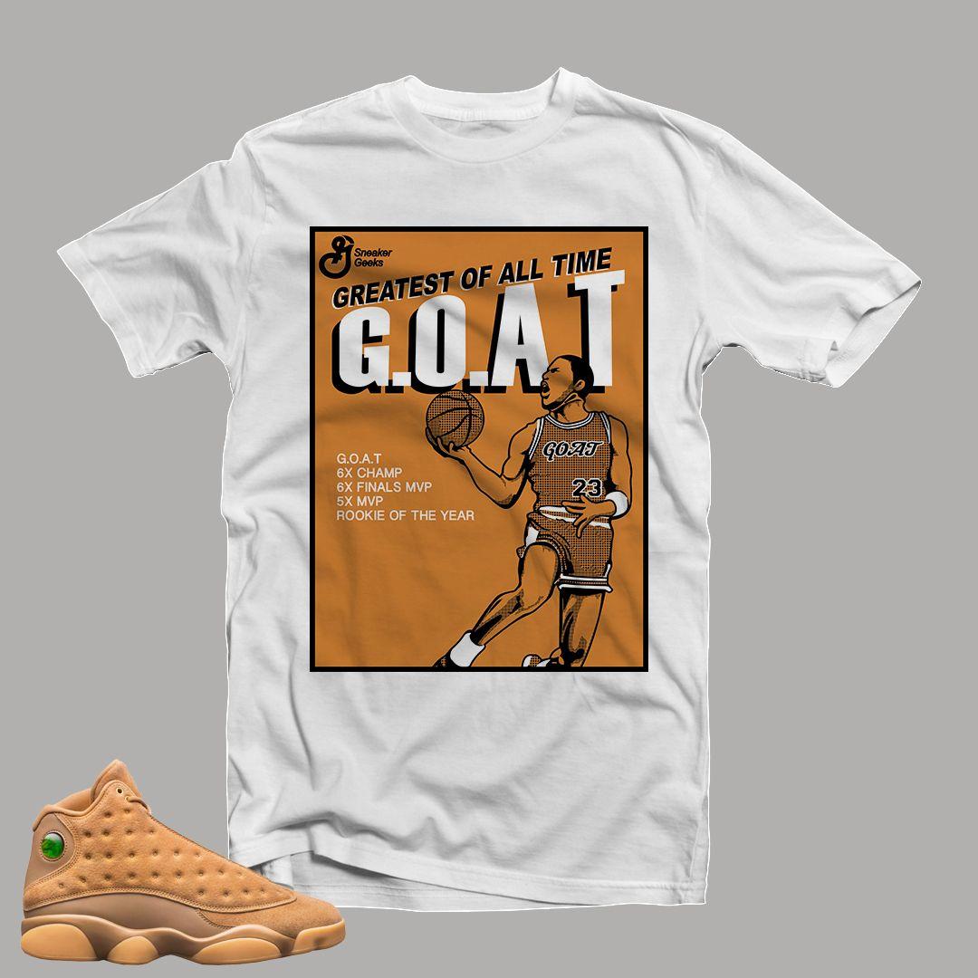 T-Shirt to match Jordan 13 Wheat