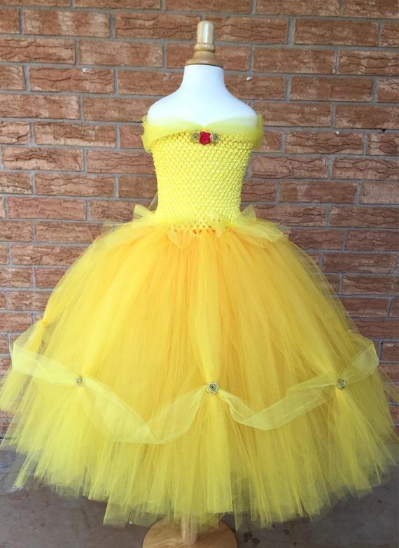 f00ee8976793 Princess Belle costume, princess costume, Beauty costume, Belle dress,  Belle tutu dress
