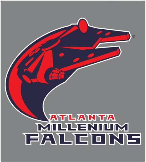 Sport Mashups   Millenium falcon, Disney star wars, Atlanta