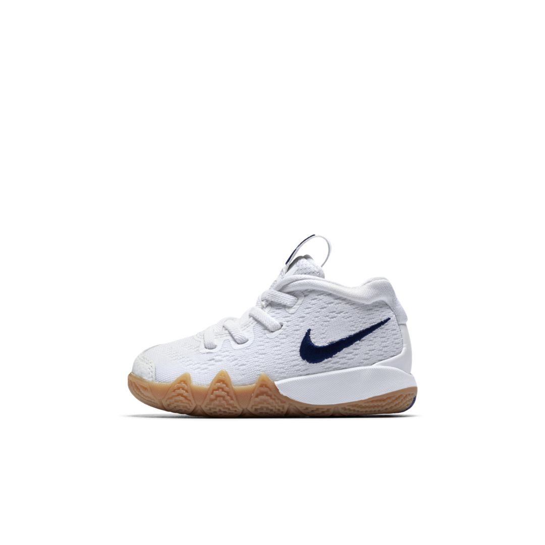 c768c0ba00aa Kyrie 4 Infant Toddler Shoe Size 10C (White)