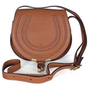 c29e1714cbafd Chloé Marcie Small Saddle Bag tan leather   Embellish Me   Pinterest ...
