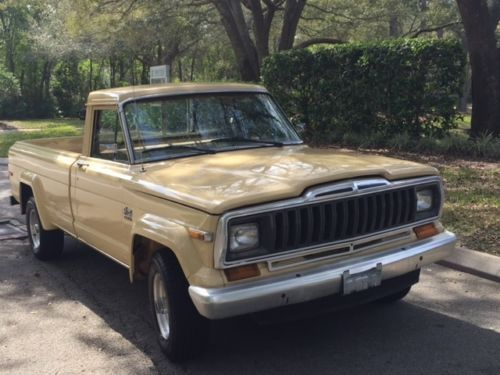 1982 Jeep Pickup Truck J10 4x4 Survivor Jeep Pickup Truck Jeep