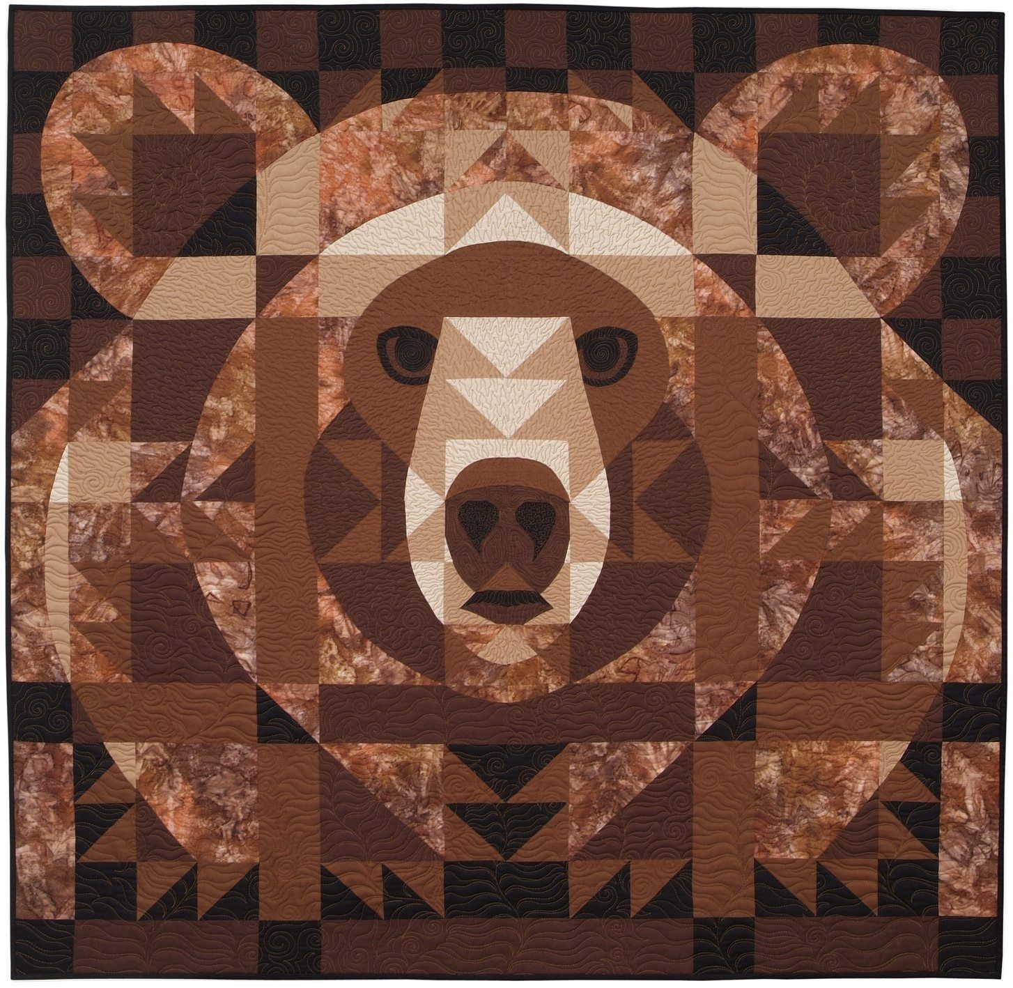 Stacks Image 1513 this is amazing. xxx | quilts | Pinterest ... : bear claw quilt block - Adamdwight.com