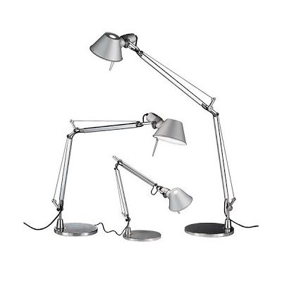 Tolomeo Family Armaturen, Schreibtisch, Schreibtischlampe, Tischlampen,  Arbeitsplatzbeleuchtung, Lichtdesign, Lichtdekoration,