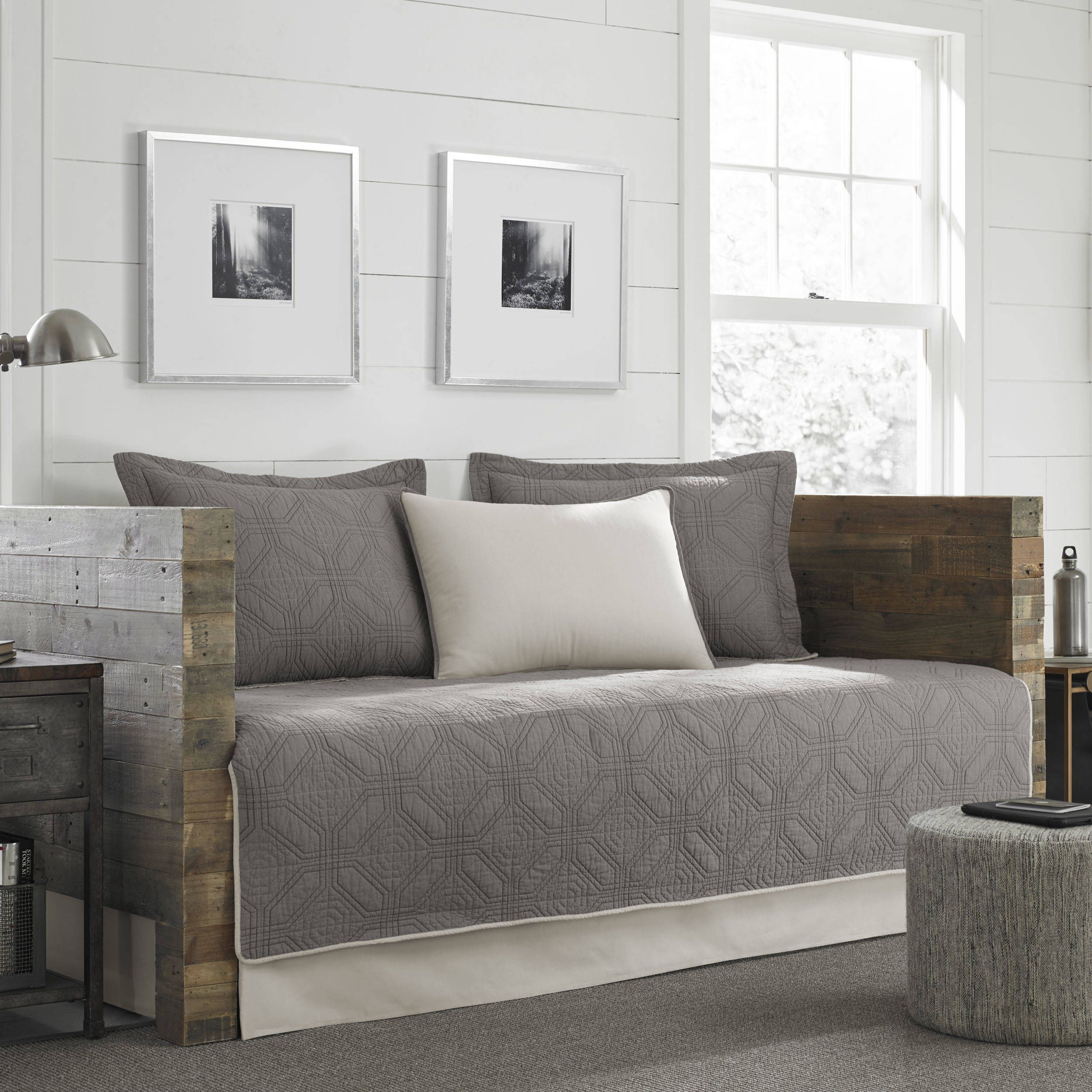 Eddie bauer axis grey 5piece daybed cover set daybed