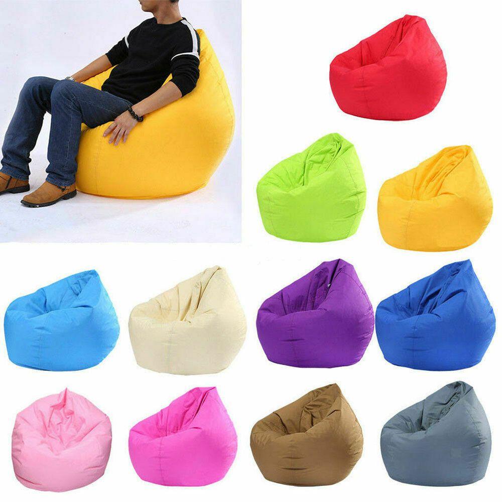 Groovy Details About Large Bean Bag Gamer Beanbag Adult Outdoor Creativecarmelina Interior Chair Design Creativecarmelinacom