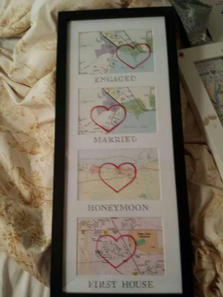 Cool Wedding Anniversary Gift Idea Crafty Pinte