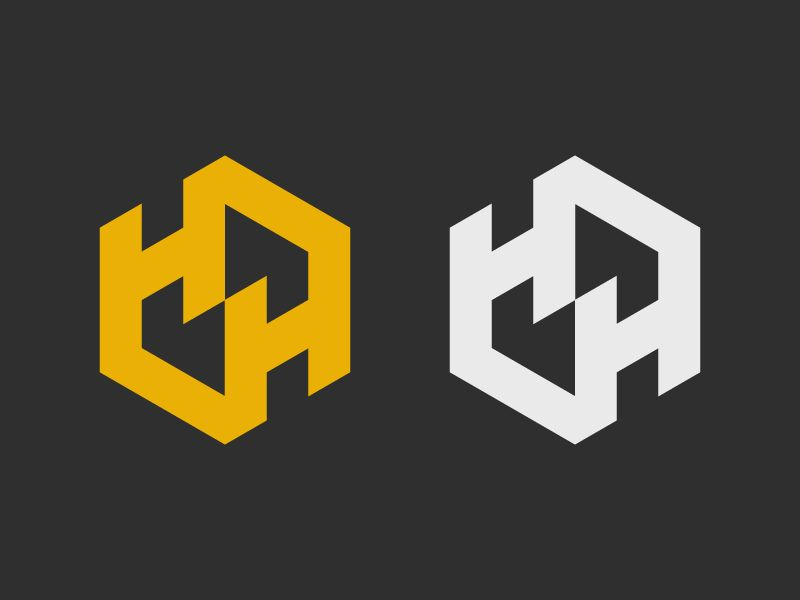 Double H Logo Design Typography Logo Inspiration Branding H Logos