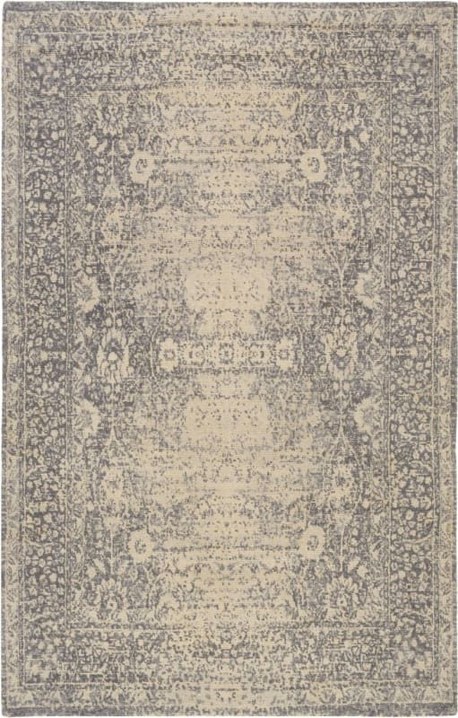 Hand Loomed Traditional Area Rug Beige