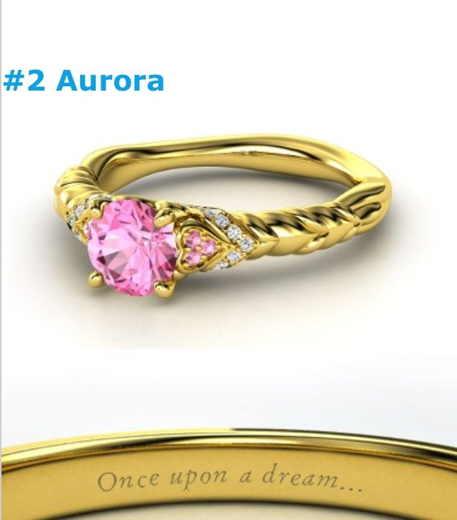 Sleeping beauty ring