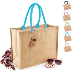 Photo of Wm407 Westford Mill Jute Classic Shopper Westford Mill