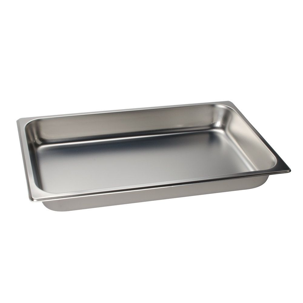 Full Size 2 1 2 Deep Stainless Steel Steam Table Hotel Pan 25 Gauge Steam Tables Steam Table Pans Cookware Sets