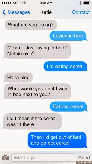 I'd just eat the cereal by cosenza987 on DeviantArt