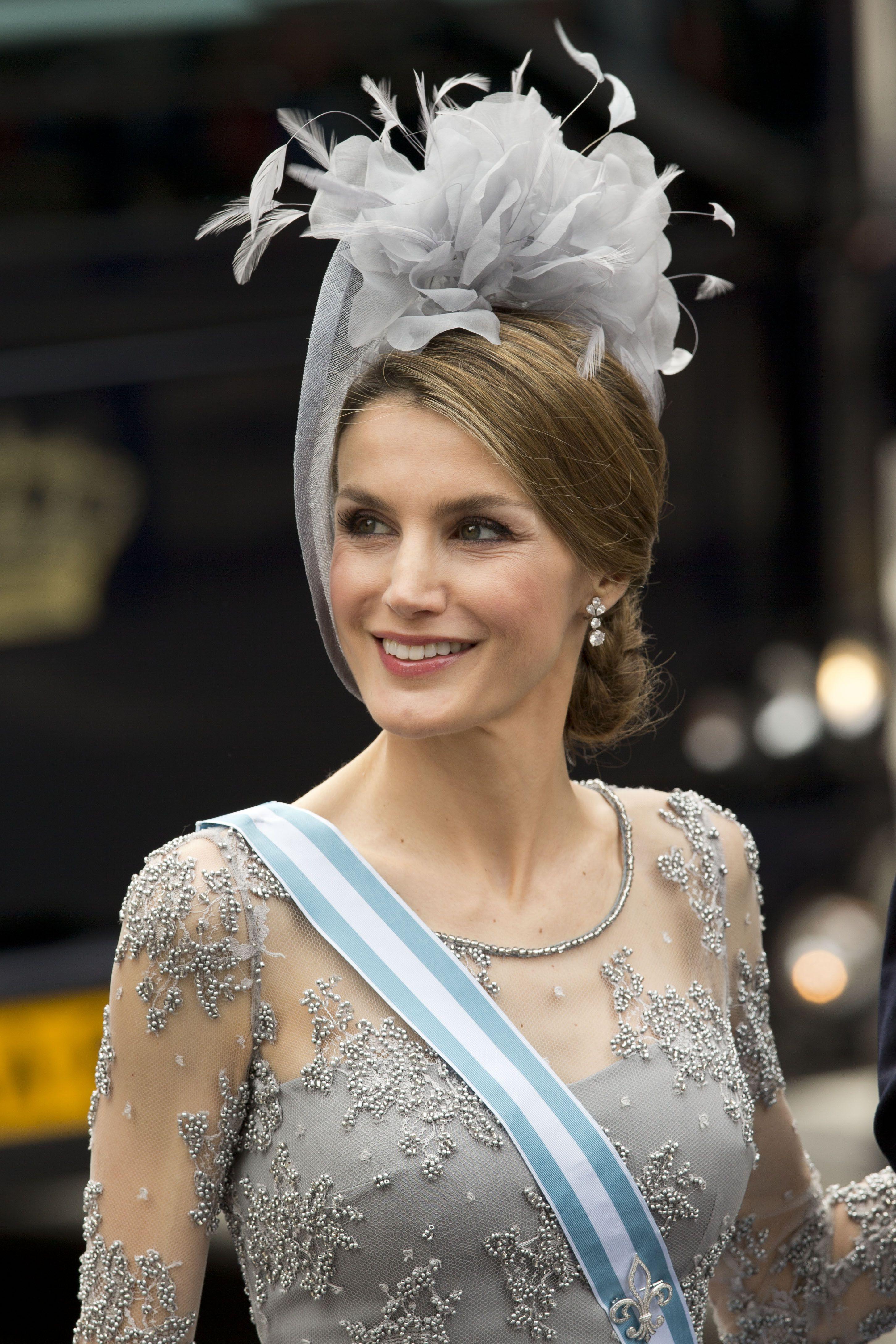Coronación en Holanda. Princesa Letizia
